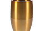 Bubba Brushed Aluminium Planter (Gold)