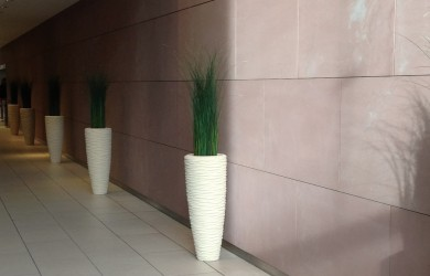 grasses and planters by Mummie Plants